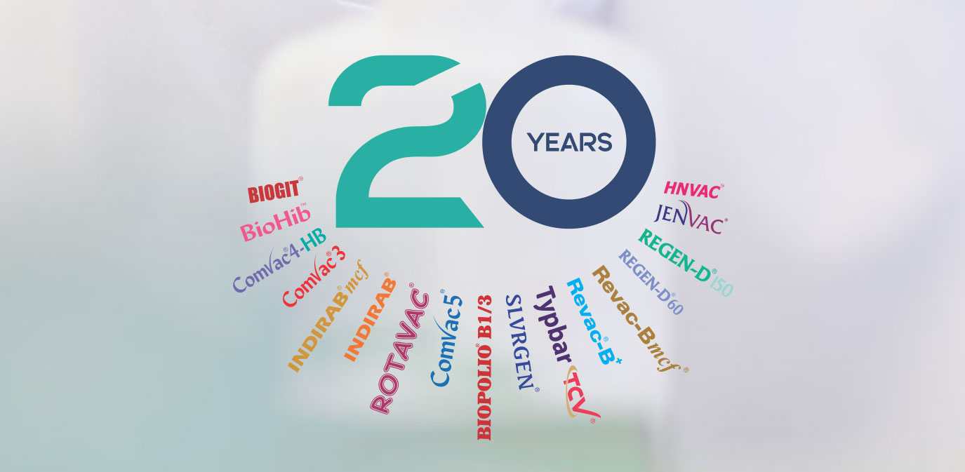 twenty years of bharat biotech